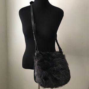 Banana Republic Shearling Crossbody